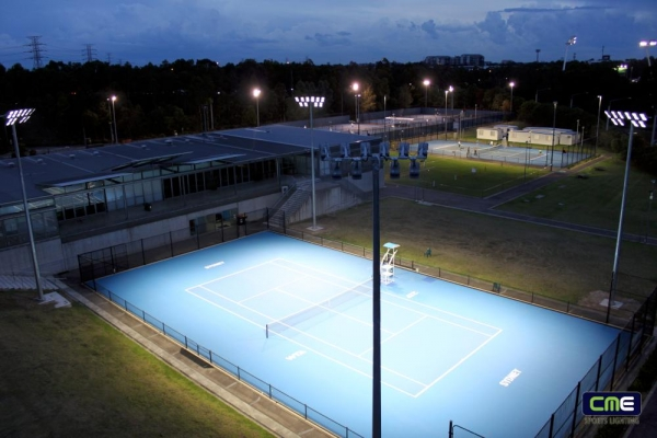 Sydney Olympic Park Tennis Centre - LED Lighting Upgrade